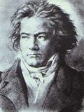 Beethoven face