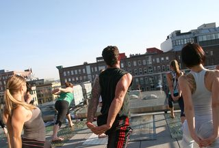 2nd rooftop yoga