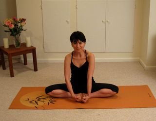 Knee and Thigh Stretch B