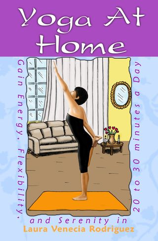 Yoga at home for beginners new book excerpt knee and thigh stretch