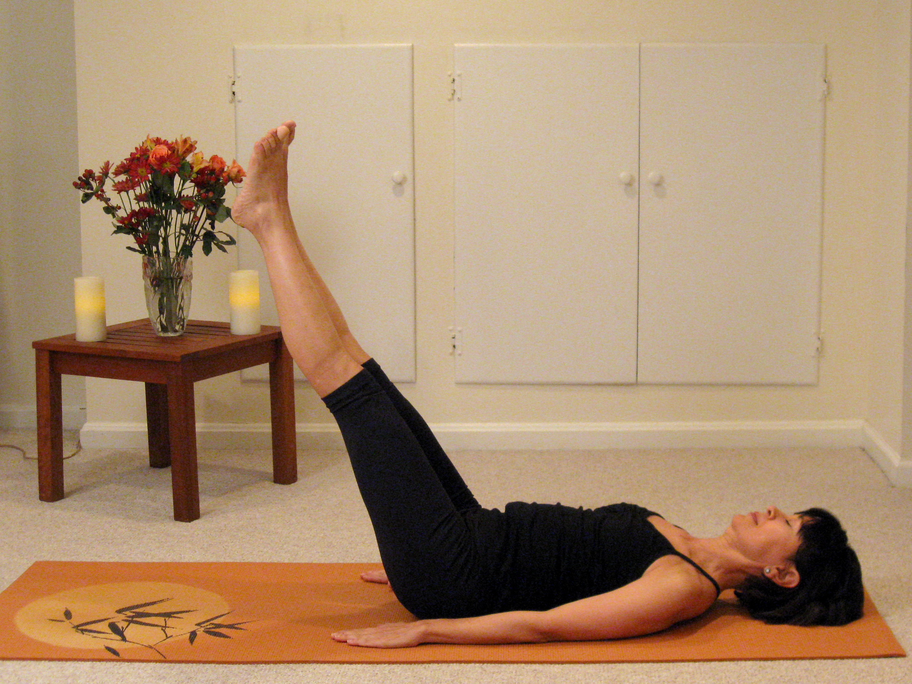 yoga at home for beginners book excerpt how to do the shoulder