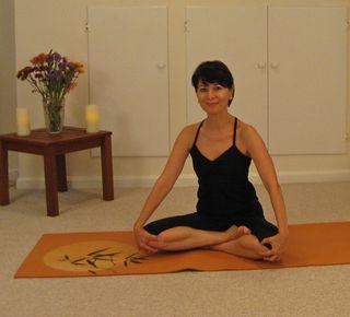 2nd Yoga half-lotus for landing page