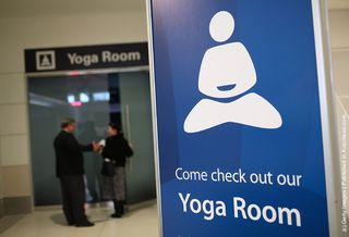 Yoga Room at SFO Airport