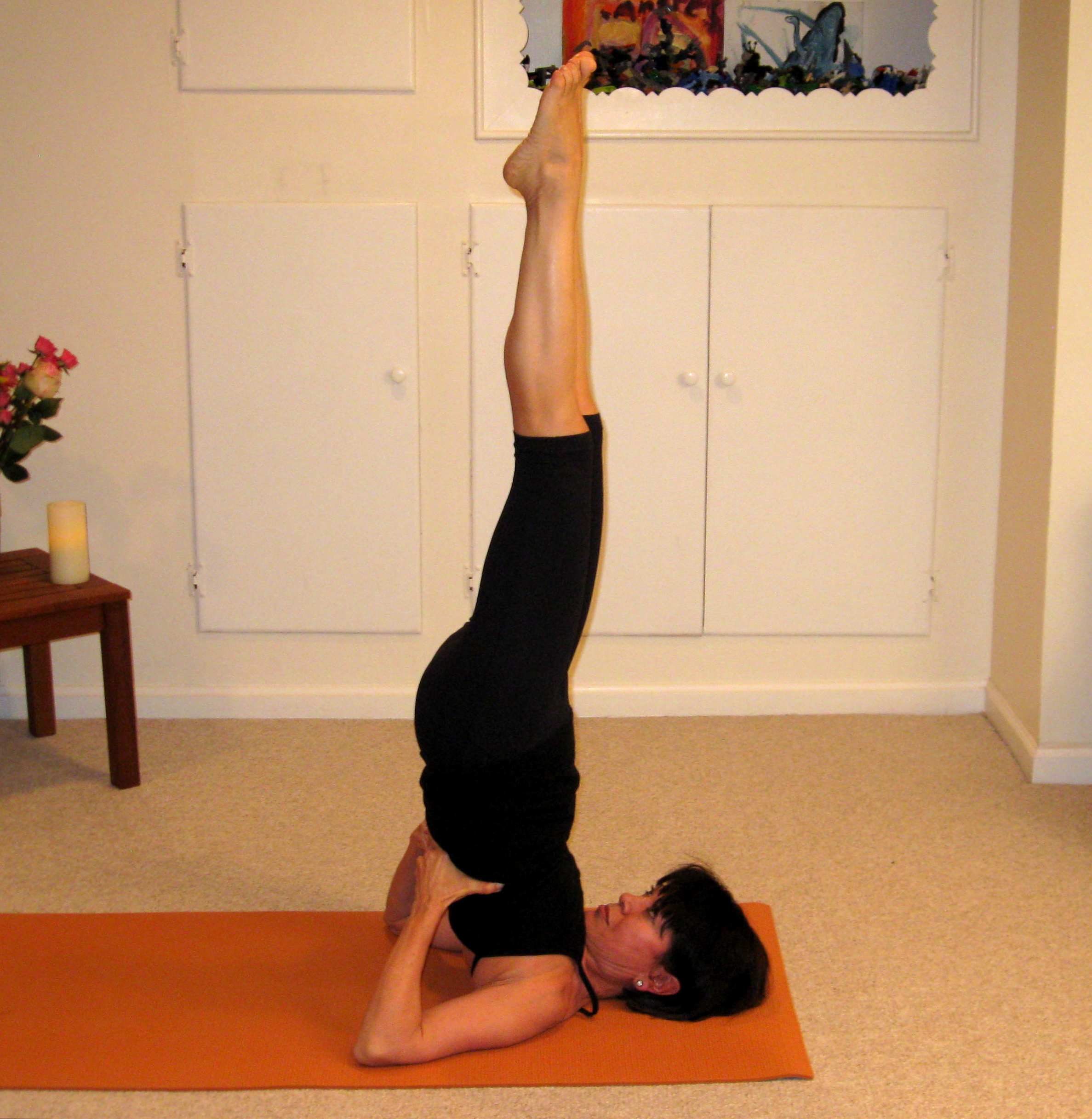 Shoulder Stand High Blood Pressure