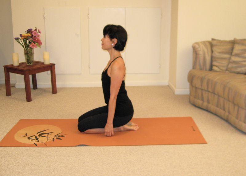 Japanese Sitting Pose