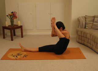 Ankle to Forehead Stretch 3