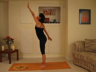 Arm and Leg Stretch 1