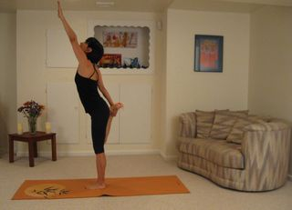 Arm and Leg Stretch 2